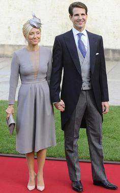Principes   Pablo y Marie Chantal de Grecia .. Boda de Guillermo de Luxemburgo & Stephanie de Lannoy