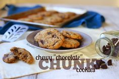 """flame to fork: AIP Chewy """"Chocolate"""" Chunk Cookies (grain-free, egg-free, nut-free, dairy-free)"""