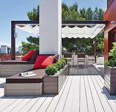 Una terraza urbanita...
