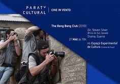 Seguindo com a programação do mês da fotografia do Cine In Vento - uma parceria da turma de Curadoria (ministrada por Leandro Leocadio) e pela turma de Fotografia (ministrada por Phelipe Paraense) - essa semana será exibido o filme 'The Bang Bang Club', no auditório da Casa da Cultura Paraty Cultural, Sexta, às 19h). (fonte Adoro Cinema) Compartilhe Cultura!  #CasaDaCultura #CasaDaCulturaParaty #exposição #fotografia #música #cultura #turismo #arte #VisiteParaty #TurismoParaty #Paraty