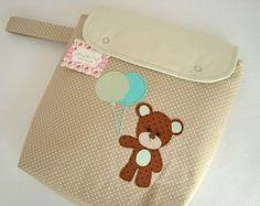 Porta Fraldas Box - Urso Amoroso