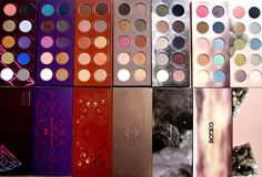 Incredible eye shadow palettes from Zoeva! L-R: Retro Future, Love is a Story…