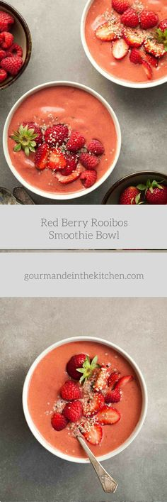 This triple red berry smoothie bowl made with strawberries, raspberries and goji berries is bright, refreshing and packed with anti-oxidants.  Scroll through your Instagram feed at any given …