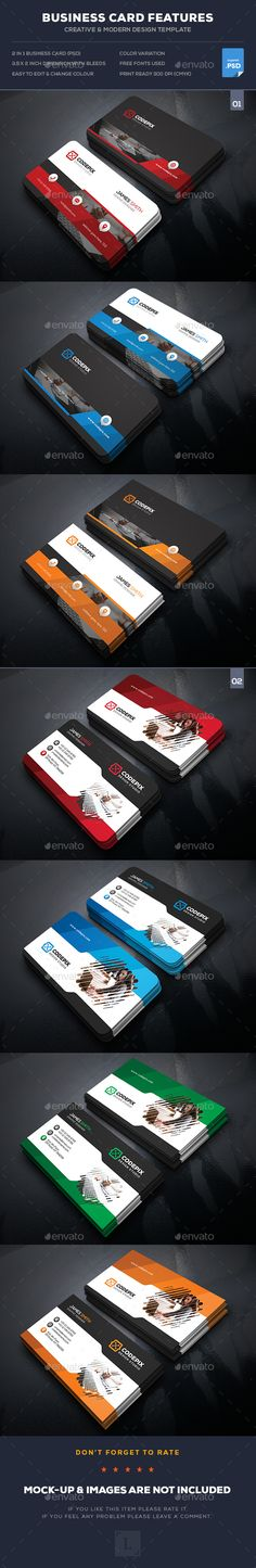 Corporate Business Card Bundle - Business Cards Print Templates Download here : http://graphicriver.net/item/corporate-business-card-bundle/16887308?s_rank=10&ref=Al-fatih