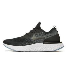 new product cdcd7 da20e Nike Epic React Flyknit Knit Shoes, Jd Sports, Black Nikes, Sport Fashion,