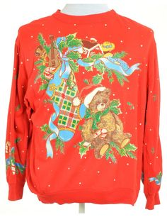 Women/'s HANDS OFF MY PUDS New Retro Xmas Vintage Jumper Top Festive Pullover