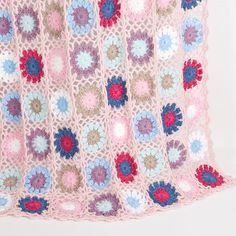 Manta Crochet Multicolor | ZARA HOME España