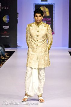 Sagar Tenali elegant groom's wear