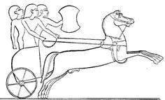 "Hittite chariot, from an Egyptian relief. It is a matter of considerable scholarly debate whether the biblical ""Hittites"" signified any or all of: 1) the original Hattians; 2) their Indo-European conquerors, who retained the name ""Hatti"" for Central Anatolia, and are today referred to as the ""Hittites""; or 3) a Canaanite group who may or may not have been related to either or both of the Anatolian groups, and who also may or may not be identical with the later Neo-Hittite (Luwian) polities."
