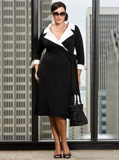 Plus Size Clothing for Women~ Stylish Plus Size Dress Sizes 32 Vestidos Plus Size, Plus Size Dresses, Plus Size Outfits, Curvy Fashion, Plus Size Fashion, Girl Fashion, Womens Fashion, Fashion Outfits, Fashion News