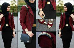 Hijab fashion #hijabi#muslimah