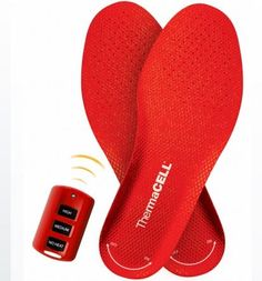 ThermaCell Remote Controlled Heated Insoles
