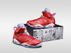 sports shoes c9026 227ed 「エア ジョーダン 6 レトロ × スラムダンク」 Jordan Retro, Nike Shoes, Nike Air