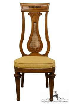 THOMASVILLE FURNITURE Villa D Este Collection Italian Provincial Dining  Side Chair 360 3863 20