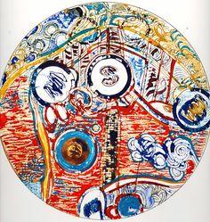 Ignacio Klindworth. Tierras de #Bizancio. Obra sobre papel y técnica mixta 30x30. Madrid 2006. www.ignacioklindworth.es