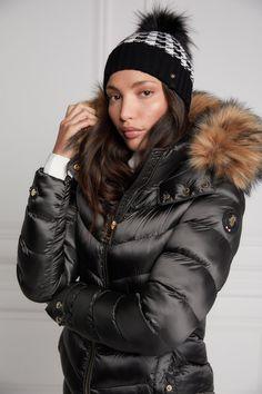 Coats For Women, Jackets For Women, Fur Jackets, Winter Jackets, Puffer Jackets, Fur Trim Coat, Leather Jacket Outfits, Color Khaki, Faux Fur