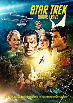 "Star Trek: The Original Series ""Shore Leave"" (First Broadcast: December 29 Star Trek Books, Star Trek Tv, Star Trek Characters, Star Wars, Star Trek Voyager, Star Trek Original Series, Star Trek Series, Tv Series, Science Fiction"