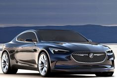 This is one of Buick's new ''concept'' cars,The Buick (Avista) is a 400hp twin turbo 3.0l V6 8 speed automatic transmission rear wheel drive coupe.
