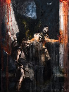 THE FINAL VEGEANCE - THE DEATH OF SAMSON by Kevissimo, via Flickr