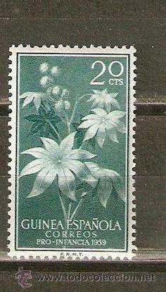 GUINEA ESPAÑOLA EDIFIL NUM. 393 ** NUEVO SIN FIJASELLOS 1959