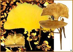 Gingko Leaves chair