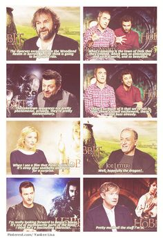 "What are you most excited for the viewers to see in ""The Hobbit""? Oh Martin. :D"