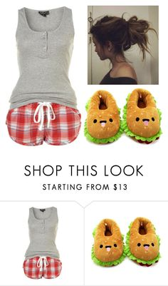 """""""Pajama for me"""" by nena69 ❤ liked on Polyvore featuring Forever 21"""