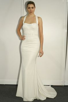 wedding dress sleek #brayola #wedding