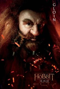 Hobbit Dwarves... Gloin father of Glimli