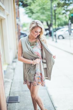 This vest is super CHIC! Shop this and EVERYTHING $42 or LESS with FREE SHIPPING ALWAYS at Entourage!