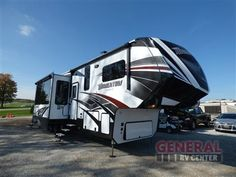 New 2017 Grand Design Momentum 397TH Toy Hauler Fifth Wheel at General RV | North Canton, OH | #146991