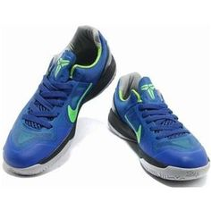 http://www.asneakers4u.com/ Nike Zoom Kobe Hyperdunk TB Blue/Green Sale Price: $68.80