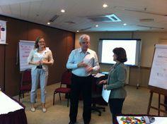 Minha primeira certificação em Clinic Coach com Vivi e Walther. Grandes amigos. SP