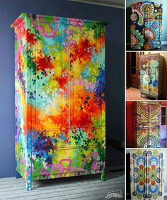 Funky painted furniture :)