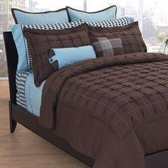 Apt. 9 Espresso Bedding Queen Comforter Set; Kohl's; $77