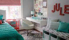 O destaque de hj vai p o blog Decor Salteado e a decoração Turquesa by Tiffany -> http://www.blogsdecor.com/decorsalteado/decoracao-turquesa-by-tiffany/ #decor #decoracao #decoracion #tiffany #azul #blue #quartos #bedroom #room
