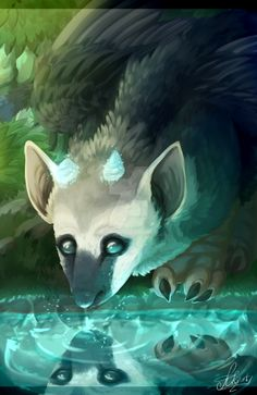 The last guardian- Trico by TheMintreyWorld