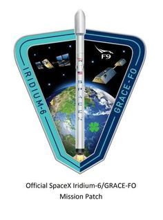 """SpaceX Embroidered Droneship Patch Just Read the Instructions 3/"""" Round"""