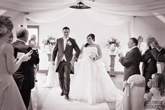 Our wedding day at Beeston manor