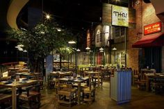 Thai Alley Restaurant supplied by Bali House & Garden #thai restaurant  #bali