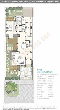Courtyard House Plans, Duplex House Plans, House Layout Plans, Apartment Floor Plans, Floor Plan Layout, Dream House Plans, Modern House Plans, House Layouts, House Floor Plans