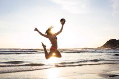 """""""Jumping for joy is the best exercise! Jumping For Joy, Beach Volleyball, Mikasa, Cape Town, South Africa, Happiness, Exercise, Twitter, Sports"""