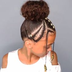 with nappyme # loose Braids for kids 🦋🦋Hairstyle du jour🦋 Little Girls Natural Hairstyles, Easy Hairstyles For Medium Hair, Kids Braided Hairstyles, Natural Protective Hairstyles, Hairstyles For Natural Hair, Beautiful Hairstyles, Hairstyles Bangs, Lil Girl Hairstyles, Black Toddler Girl Hairstyles