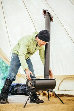 Camping outdoors is such a pleasure. I guess when I go camping, I actually go glamping. That is a cross between glam and camping. What do you need to camp with me? A good cabin tent with porch. Winter Camping, Camping And Hiking, Camping Survival, Tent Camping, Camping Gear, Outdoor Camping, Outdoor Gear, Glamping, Backyard Camping