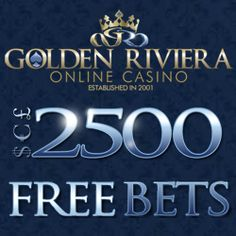 Golden Riviera is offering Golden Riviera Casino 3 exciting promotions for new players. $2500 can be claimed by new players as free play casino credits. 50 free spins are also given to the players on the Riviera Riches Video Slot. Visit #Bonusbrother for latest #casino #bonus offers.