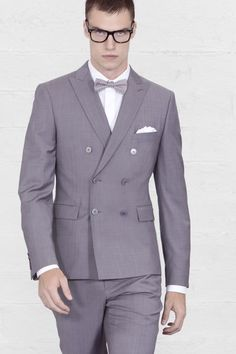 A very special Louis Purple double breasted #suit. Fitted and short.