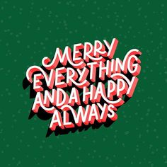 32 Jolly Christmas Card Design Ideas - The Best of Christmas Card Graphic Design - Web Design Ledger The Best Of Christmas, Merry Little Christmas, All Things Christmas, Christmas Time, Happy Holidays Quotes Christmas, Christmas Card Quotes, Merry Christmas Typography, Christmas Hair, Merry Xmas