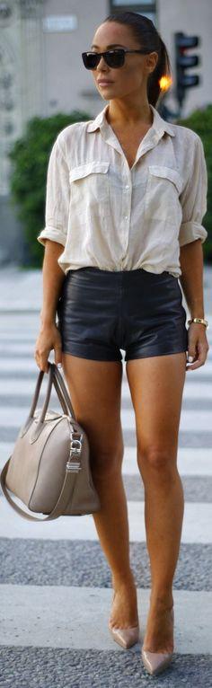 Zara Beige Linen Loose Button Down | SUMMER  | FASHION | M E G H A N ♠ M A C K E N Z I E