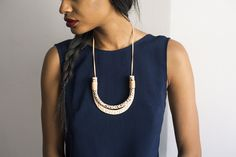 golden ardor necklace by highlow jewelry
