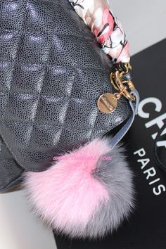 Fendi pom pom bag charms - Google Search